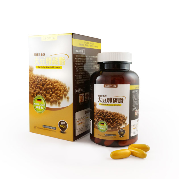 橙心─非基改大豆卵磷脂膠囊 1